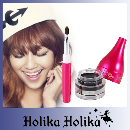 [Holika Holika] Gel kẻ mắt  Enamel Magic Melomovie Gel Eyeliner #01-Black