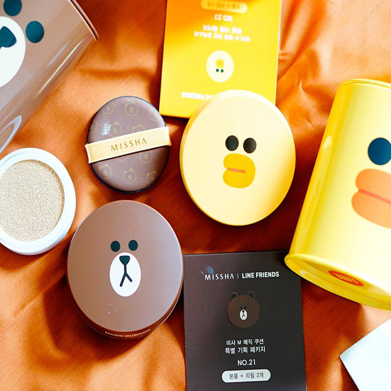 [Missha] Phấn nước Missha Line Friends Magic Cushion SPF50+/PA+++