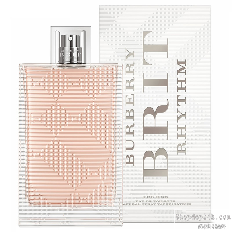 [Burberry] Nước hoa nữ Burberry Brit Rhythm For Her 90ml