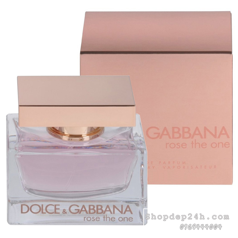 [Dolce & Gabbana] Nước hoa nữ Dolce & Gabbana Rose The One 75ml
